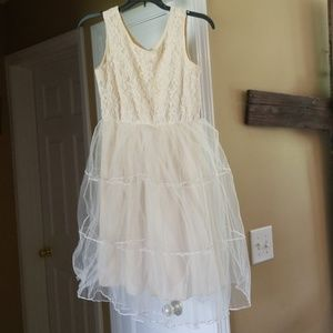 Gorgeous Ivory Dress